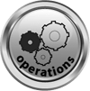 Operations icon - business studies