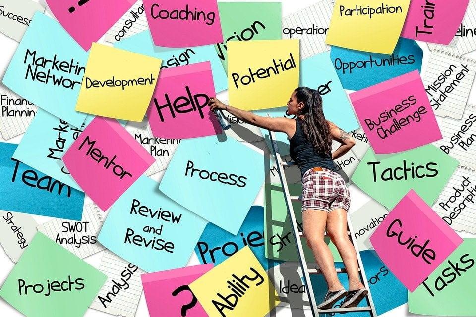 tickies, Post-It, List, Business, Career, Start Up