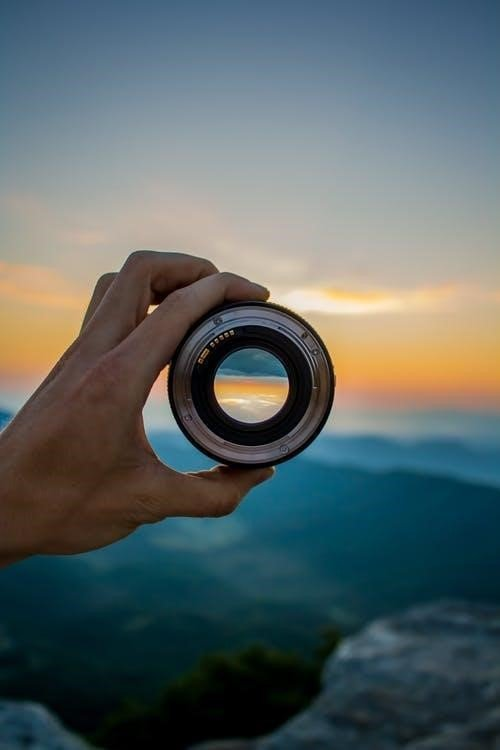 Black and Silver Dslr Lens
